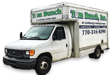 Tom Bunch HVAC Truck